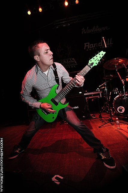 [after the burial on Apr 17, 2009 at the Palladium - Mainstage (Worcester, MA)]