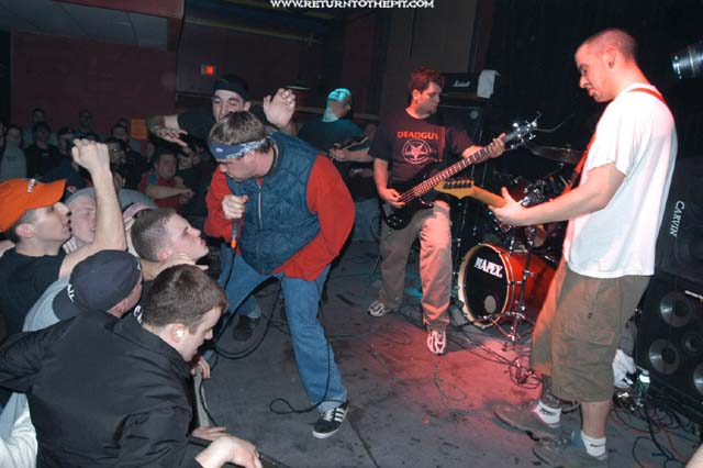 [all out war on Feb 22, 2003 at the Met Cafe (Providence, RI)]