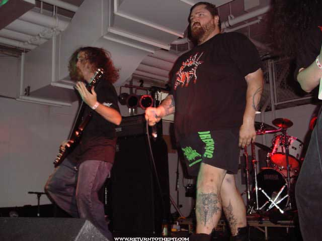 [anal blast on Jul 27, 2002 at Milwaukee Metalfest Day 2 nightfall (Milwaukee, WI)]