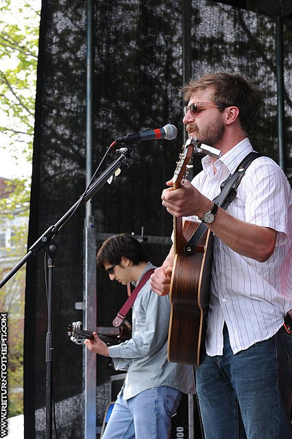 [ba canning band on May 5, 2012 at The Great Lawn (Durham, NH)]