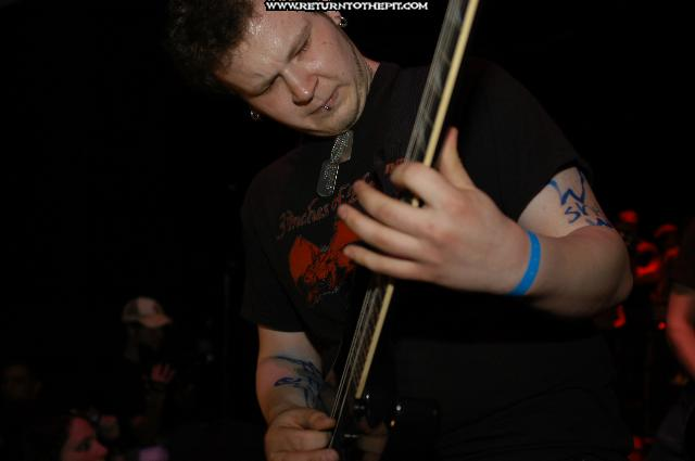 [the black dahlia murder on Apr 30, 2004 at the Palladium - first stage (Worcester, MA)]