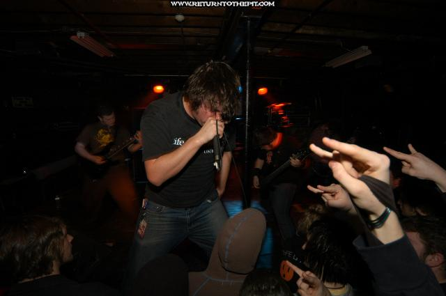 [the black dahlia murder on Mar 30, 2004 at the Living Room (Providence, RI)]