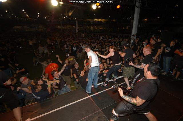 [bury your dead on Jul 24, 2004 at Hellfest - Hopeless Stage (Elizabeth, NJ)]