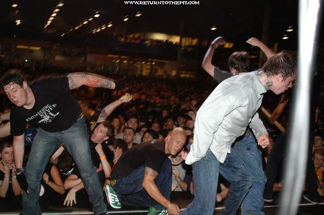 [converge on Jul 25, 2004 at Hellfest - Trustkill Stage (Elizabeth, NJ)]