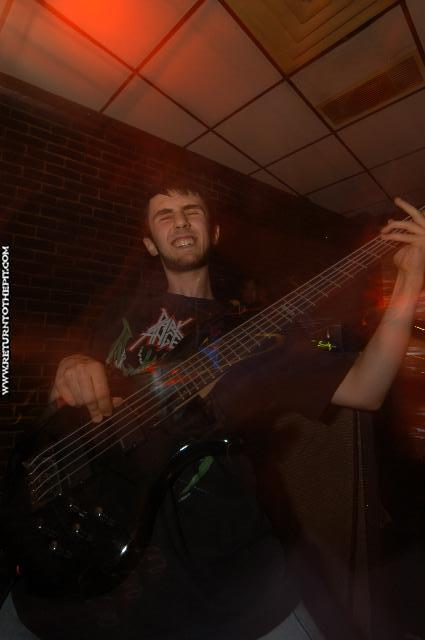 [cryptic warning on Sep 15, 2004 at the Chopping Block (Boston, Ma)]