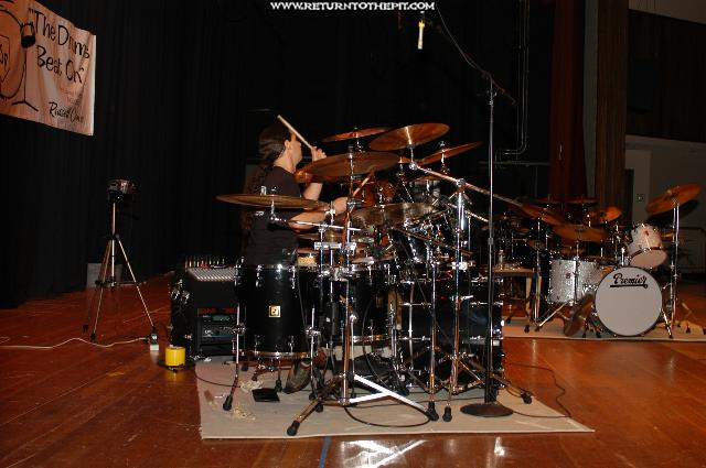 [derek roddy on Jul 18, 2004 at Ocean State Percussion Benefit (Woonsocket, RI)]