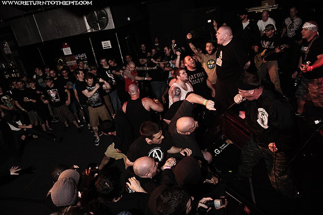 [earth crisis on Apr 23, 2010 at the Palladium - Secondstage (Worcester, MA)]