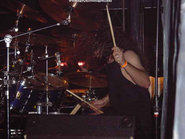 [hate eternal on Nov 8, 2002 at Chantilly's (Manchester, NH)]