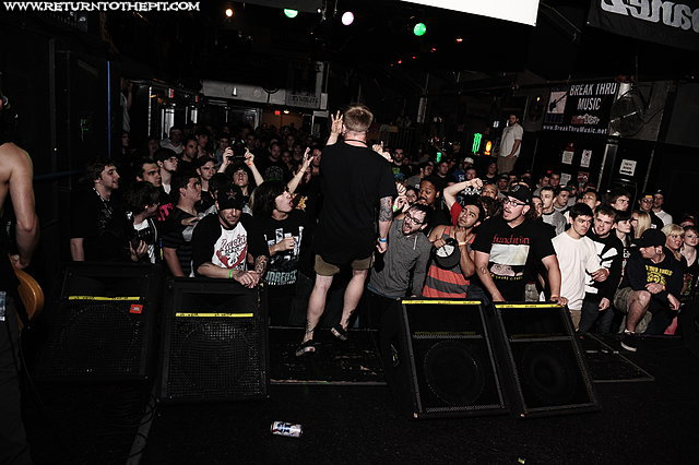 [hundredth on Apr 22, 2012 at the Palladium - Secondstage (Worcester, MA)]