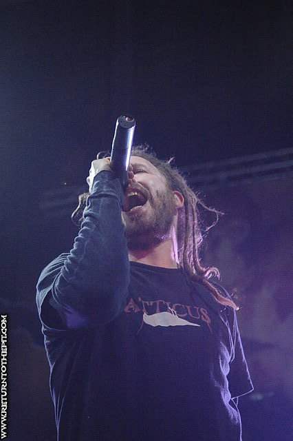 [in flames on Apr 25, 2008 at the Palladium (Worcester, MA)]
