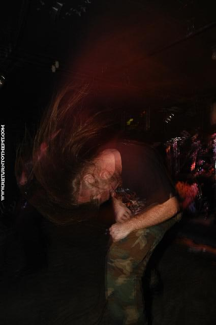 [severed savior on Nov 22, 2003 at the Bombshelter (Manchester, NH)]