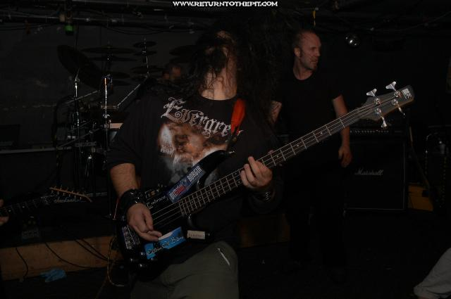 [the accursed on Oct 2, 2004 at the Bombshelter (Manchester, NH)]