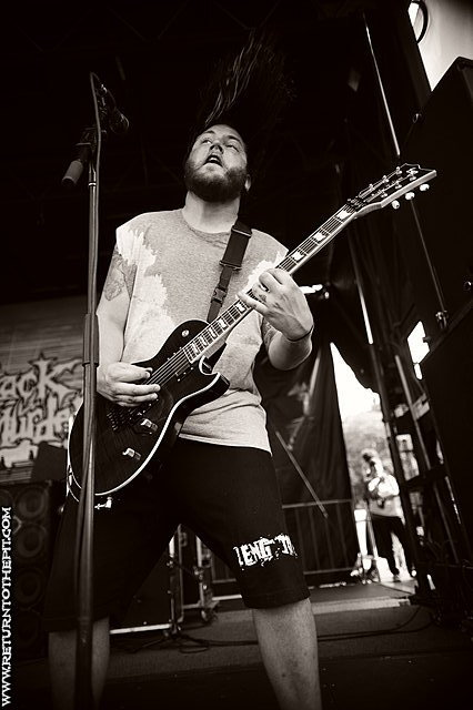 [the black dahlia murder on Aug 4, 2009 at Comcast Center (Mansfield, MA)]