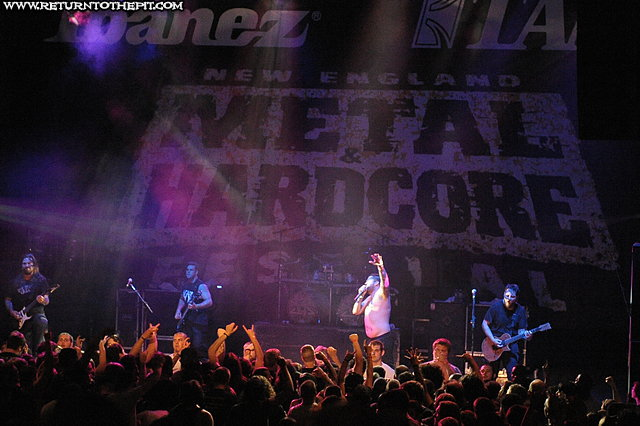 [the black dahlia murder on Apr 20, 2012 at the Palladium - Mainstage (Worcester, MA)]
