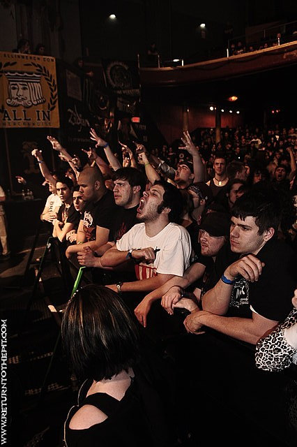 [the haunted on Apr 17, 2009 at the Palladium - Mainstage (Worcester, MA)]