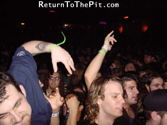 [the haunted on Apr 13, 2001 at The Palladium (Worcester, MA)]
